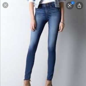 American Eagle high rise jegging jeans sz 2 long